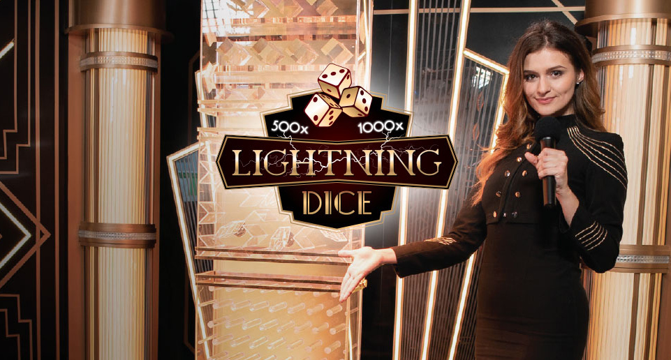 Slot machine Lightning Dice